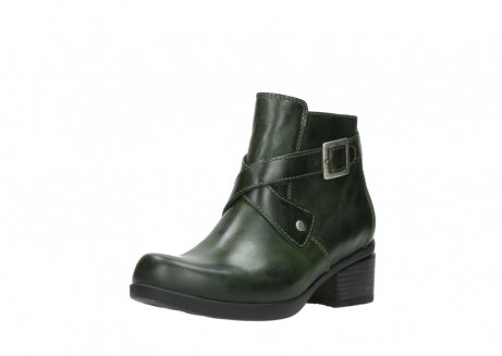wolky ankle boots 01375 vecchio 30732 forestgreen leather_22