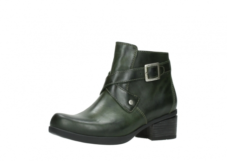 wolky ankle boots 01375 vecchio 30732 forestgreen leather_23