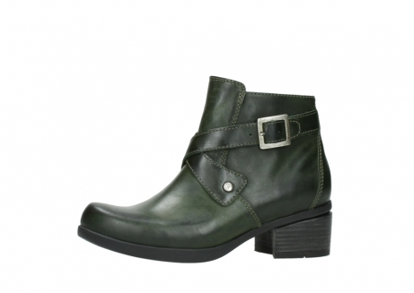 wolky ankle boots 01375 vecchio 30732 forestgreen leather_24