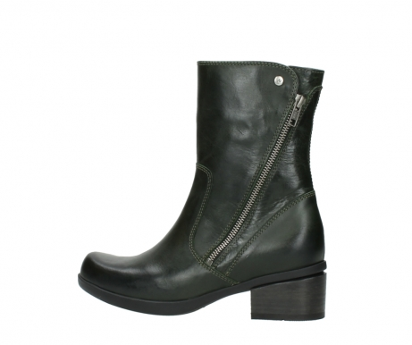 wolky mid calf boots 01376 rialto 30732 forestgreen leather_2
