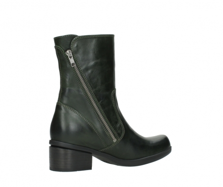 wolky mid calf boots 01376 rialto 30732 forestgreen leather_11