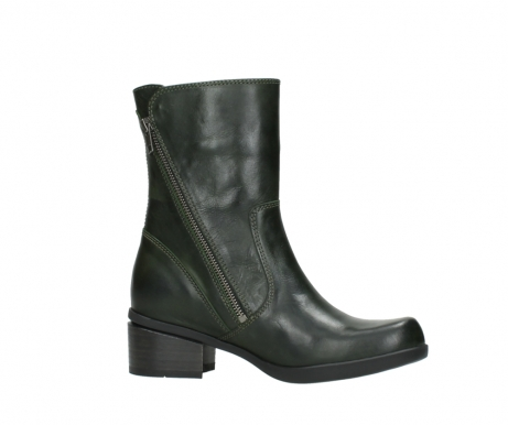 wolky mid calf boots 01376 rialto 30732 forestgreen leather_14