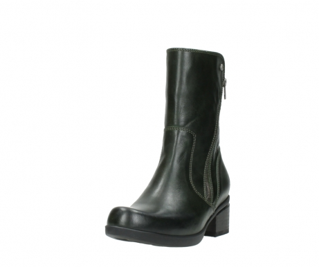 wolky mid calf boots 01376 rialto 30732 forestgreen leather_21