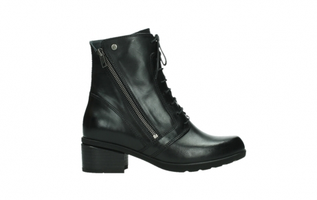 wolky bottines a lacets 01377 forth 30002 cuir noir_1