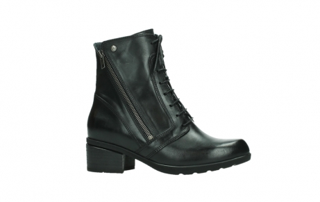 wolky bottines a lacets 01377 forth 30002 cuir noir_2