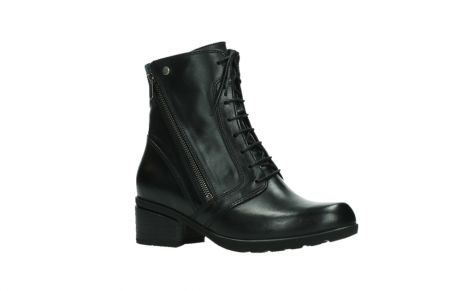 wolky lace up boots 01377 forth 30002 black leather_3