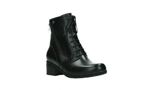 wolky bottines a lacets 01377 forth 30002 cuir noir_4