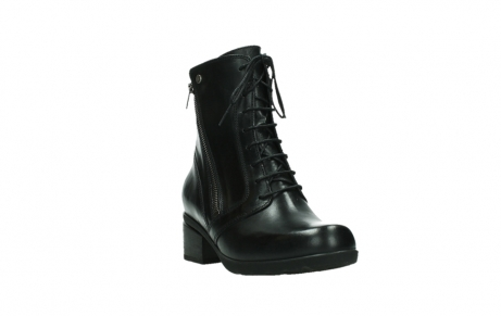wolky bottines a lacets 01377 forth 30002 cuir noir_5
