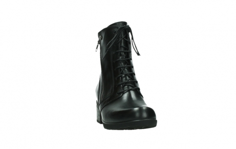 wolky bottines a lacets 01377 forth 30002 cuir noir_6