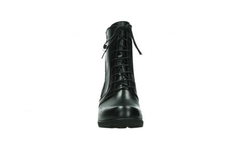 wolky bottines a lacets 01377 forth 30002 cuir noir_7
