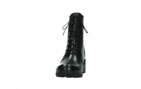 wolky bottines a lacets 01377 forth 30002 cuir noir_8