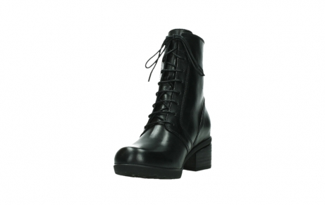 wolky bottines a lacets 01377 forth 30002 cuir noir_9
