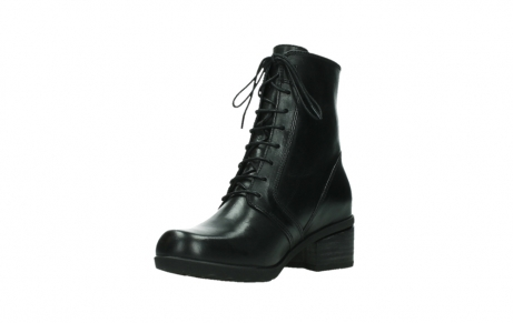 wolky bottines a lacets 01377 forth 30002 cuir noir_10