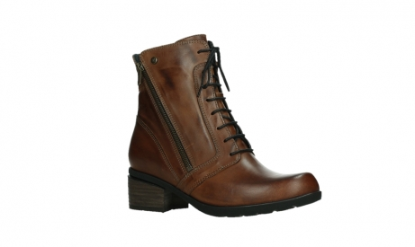 wolky lace up boots 01377 forth 30432 cognac leather_3