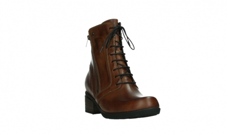 wolky lace up boots 01377 forth 30432 cognac leather_5