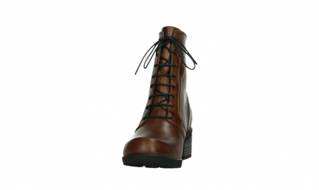 wolky bottines a lacets 01377 forth 30432 cuir cognac_8