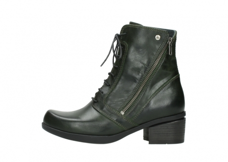 wolky bottines a lacets 01377 forth 30732 cuir vert_1