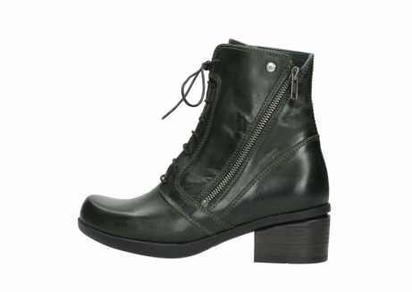 wolky bottines a lacets 01377 forth 30732 cuir vert_2
