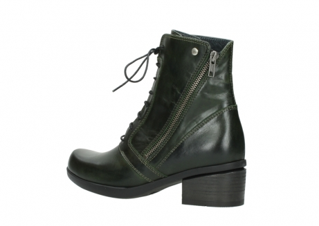wolky bottines a lacets 01377 forth 30732 cuir vert_3