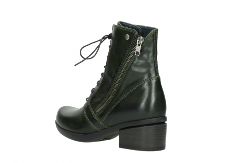 wolky bottines a lacets 01377 forth 30732 cuir vert_4