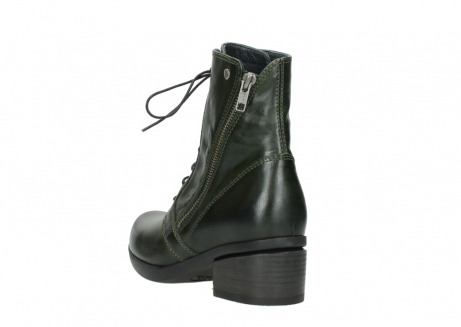 wolky bottines a lacets 01377 forth 30732 cuir vert_5
