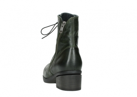 wolky bottines a lacets 01377 forth 30732 cuir vert_6