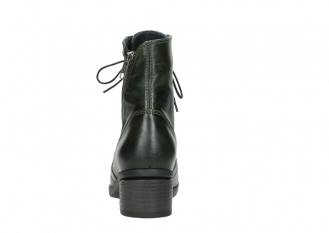 wolky bottines a lacets 01377 forth 30732 cuir vert_7