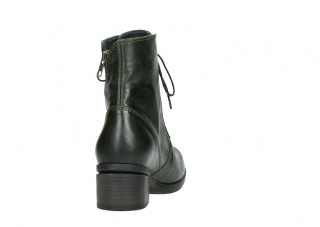 wolky bottines a lacets 01377 forth 30732 cuir vert_8