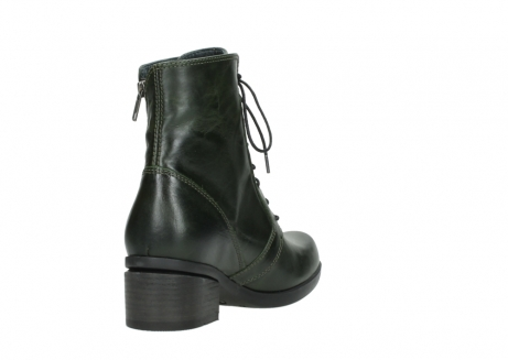 wolky lace up boots 01377 forth 30732 forestgreen leather_9