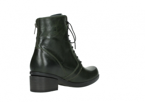wolky bottines a lacets 01377 forth 30732 cuir vert_10
