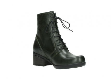 wolky bottines a lacets 01377 forth 30732 cuir vert_16