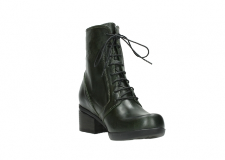 wolky bottines a lacets 01377 forth 30732 cuir vert_17