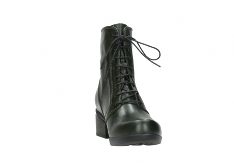 wolky bottines a lacets 01377 forth 30732 cuir vert_18