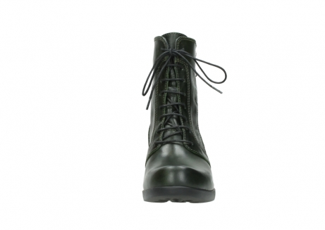 wolky bottines a lacets 01377 forth 30732 cuir vert_19