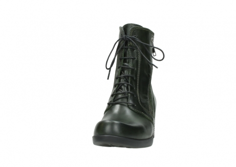 wolky bottines a lacets 01377 forth 30732 cuir vert_20