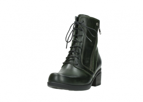 wolky bottines a lacets 01377 forth 30732 cuir vert_21