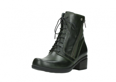 wolky bottines a lacets 01377 forth 30732 cuir vert_22