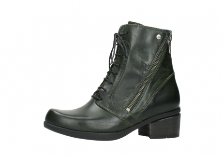 wolky bottines a lacets 01377 forth 30732 cuir vert_24