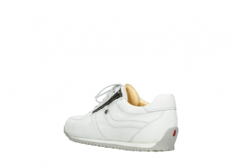 wolky chaussures a lacets 01402 morgan 20121 cuir blanc casse_4