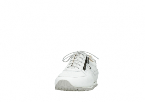 wolky chaussures a lacets 01402 morgan 20121 cuir blanc casse_20