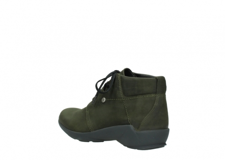 wolky lace up shoes 01571 jaca 11732 forestgreen oiled nubuck_4