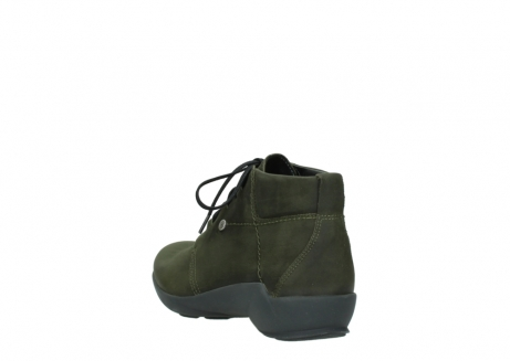wolky lace up shoes 01571 jaca 11732 forestgreen oiled nubuck_5