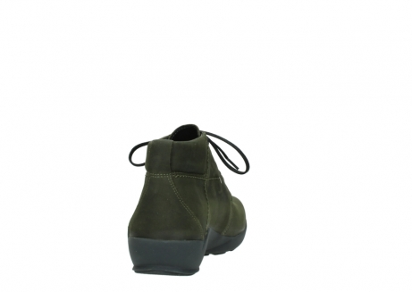 wolky lace up shoes 01571 jaca 11732 forestgreen oiled nubuck_8