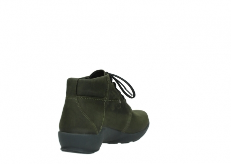 wolky lace up shoes 01571 jaca 11732 forestgreen oiled nubuck_9