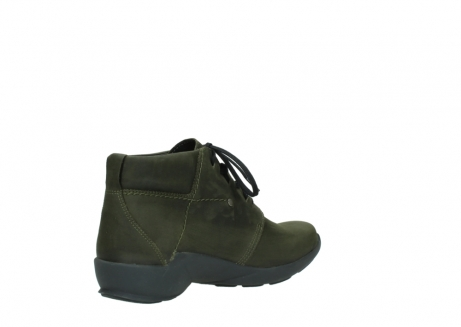 wolky lace up shoes 01571 jaca 11732 forestgreen oiled nubuck_10