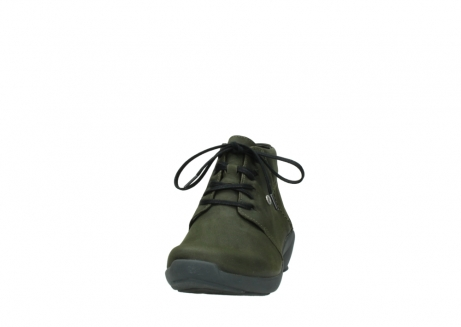 wolky lace up shoes 01571 jaca 11732 forestgreen oiled nubuck_20