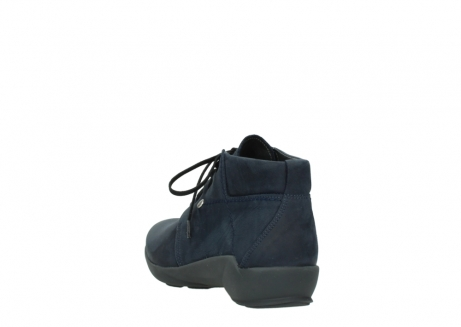 wolky chaussures a lacets 01571 jaca 11802 nubuck bleu_5