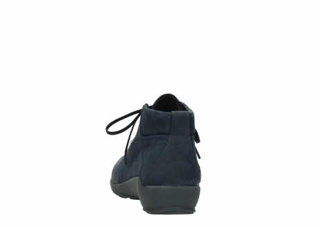 wolky chaussures a lacets 01571 jaca 11802 nubuck bleu_6