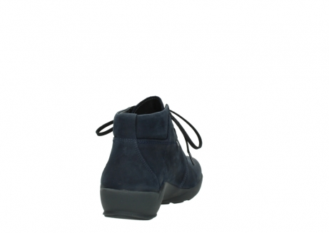 wolky chaussures a lacets 01571 jaca 11802 nubuck bleu_8