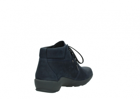 wolky chaussures a lacets 01571 jaca 11802 nubuck bleu_9
